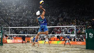 TOP 20 Crazy Actions Beach Volleyball | 3rd Meter Spike | Best Block | Best Dig | Best Defense