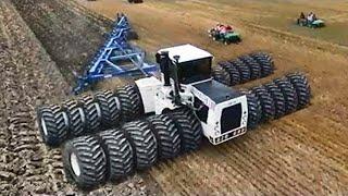 Самые большие и невероятные тракторы в мире, которые вы ещё не видели