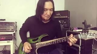 Tutorial Solo guitar lagu untuk mu ibu oleh Shah Slam subscribe dan viralkan