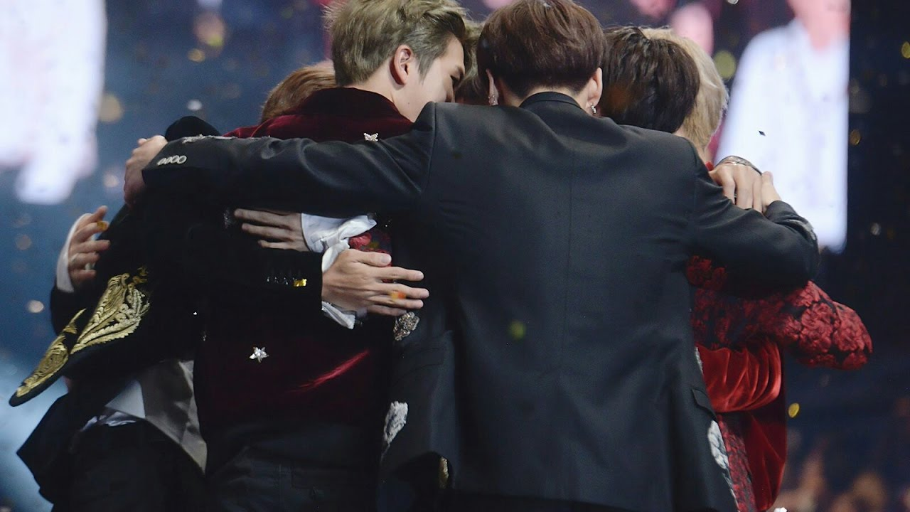 Image result for bts hugging billboard