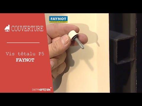 Vis t talu autoperceuse p5 6 3x100 faynot pour fixation plaque fibro sur pann - Depose plaque fibro ciment amiante ...
