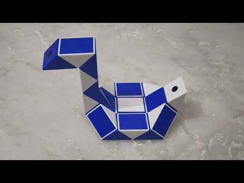 How To Make A Swan On Snake Cube