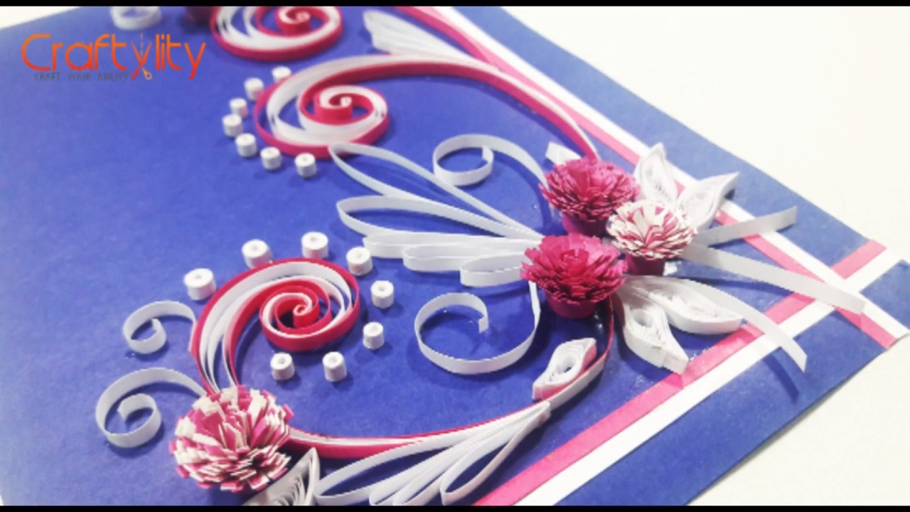 Diy paper quilling cards tutorial how to make paper quilling diy paper quilling cards tutorial how to make paper quilling greeting card ideas youtube kristyandbryce Choice Image