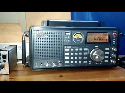 Radio Batavier from netherlands on 6285 kHz Shortwave with Tecsun S-2000