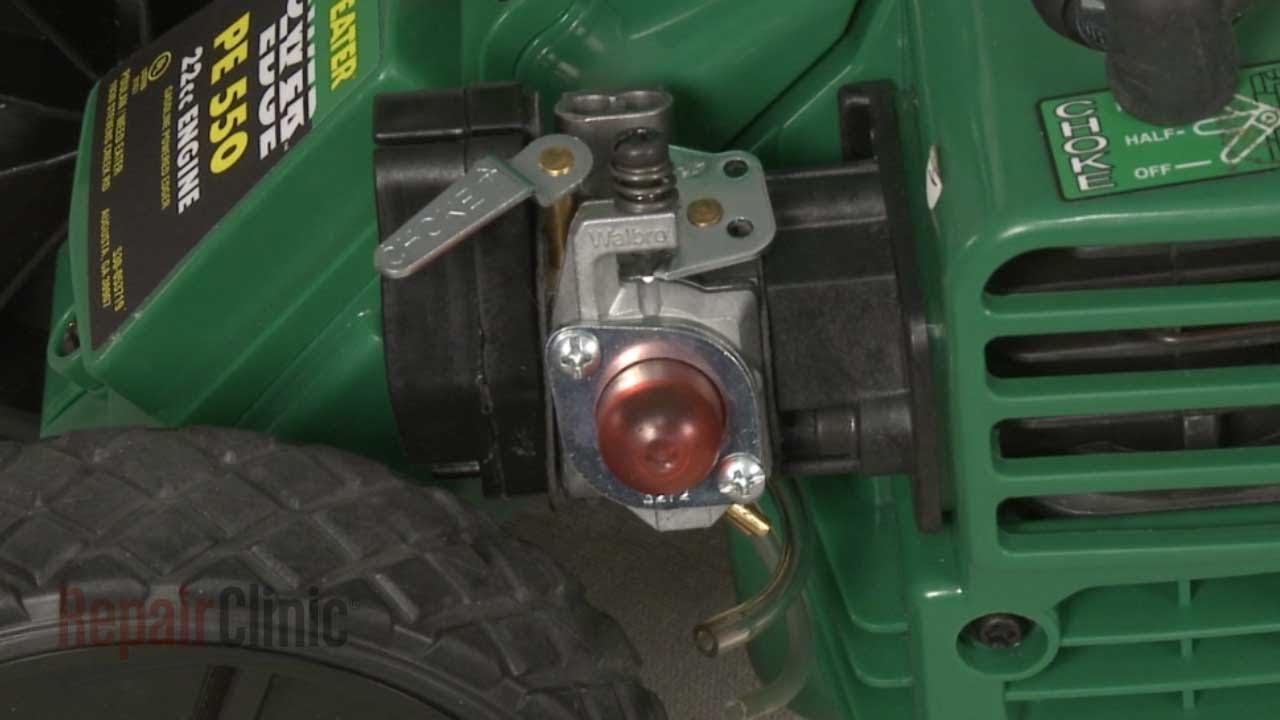 Weed Eater Edger Wont Start Carburetor Replacement