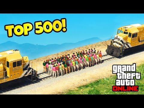 Top 500 BEST GTA 5 Fails Of All Time! (MARATHON)