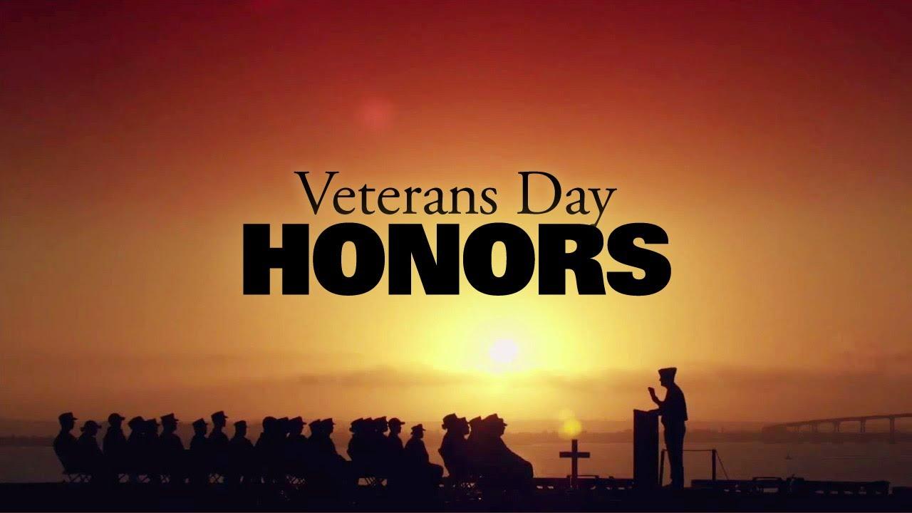 Veterans Day Veterans Day Honors Youtube