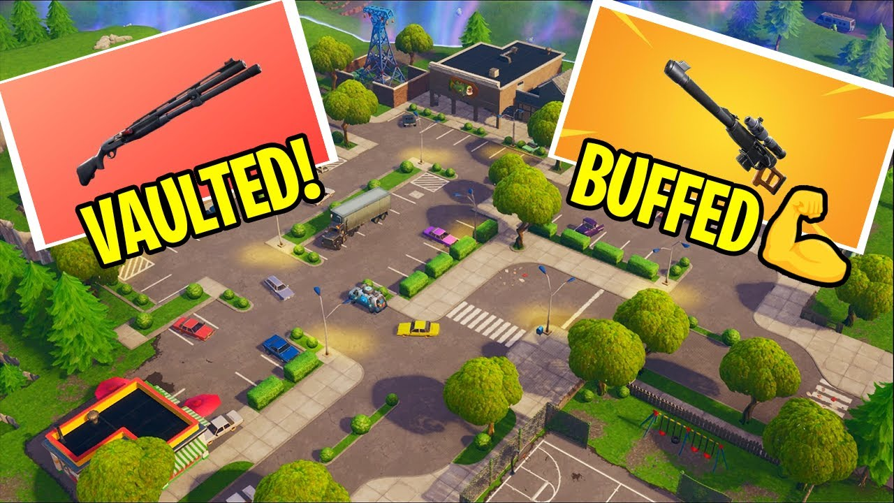 Fortnite v10.20.2 patch notes: Combat Shotgun vaulted, BRUTE nerf and more