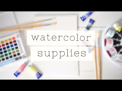 essential-watercolor-for-beginners:-supplies