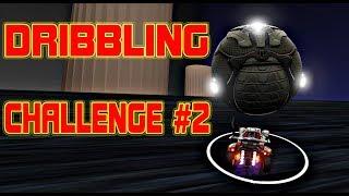 Полное прохождение Dribbling Challenge #2! Самая сложная карта в Rocket League!