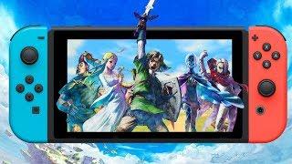 How Would Skyward Sword HD Work On Switch? - Zelda Month 2019
