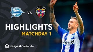 Highlights Deportivo Alaves vs Levante UD (1-0)