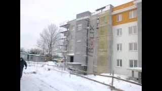 elewacje docieplenia w kombinacie budowlanym