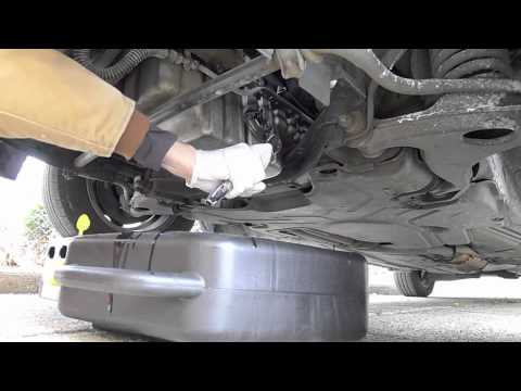 E300d om606 oil change youtube for Mercedes benz oil change coupon