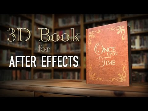3D Book & Storybook Intro (After Effects)