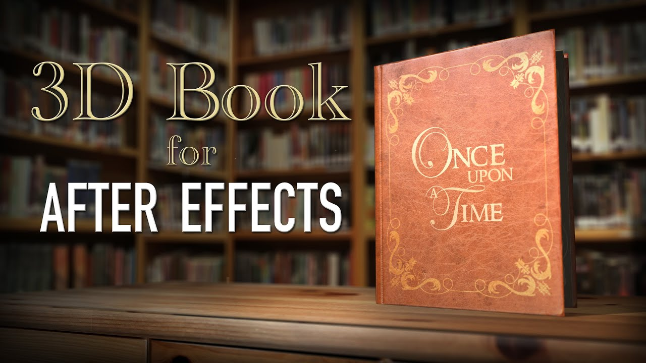 3d book amp storybook intro after effects youtube
