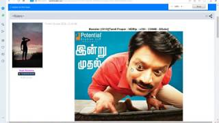 HOW TO DOWNLOAD LATEST TAMIL MOVIES (HD PRINT)