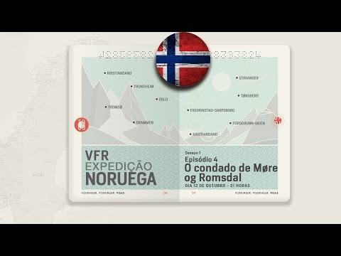 VFR Expedição Noruega • Episódio 4 - O Condado de Møre og Romsdal  ** multicamera **