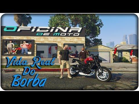 🔴 VIDA REAL DO BORBA - PRIMEIRO DIA NA OFICINA DE MOTO #20