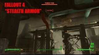 "Fallout 4 ""stealth armor"" gameplay"
