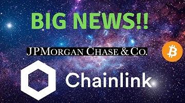Chainlink New Partnership! ( Link) JP MORGAN Change Mind On Bitcoin!