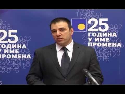 Saša Paunović: Građani će 2016. Kazniti Lošu Politiku Vlade