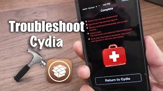 Fix Deleted Cydia, Blank Sources, Cydia Errors - iOS 10.2 Yalu Jailbreak