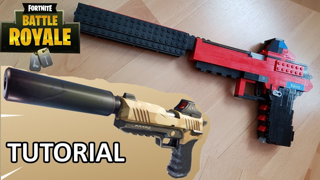 How To Build A Working Fortnite Pistol Rubber Band Gun