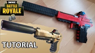 How to Build a WORKING Fortnite Pistol - Rubber Band Gun