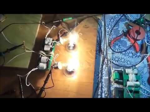 Free Energy Feb 2015 Akula 120 Watt Ferrite Generator Input only 22 Watts