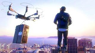 Watch Dogs 2 - ГОНКИ на ДРОНЕ, ГЕЙМПЛЕЙ [1080p-50FPS]