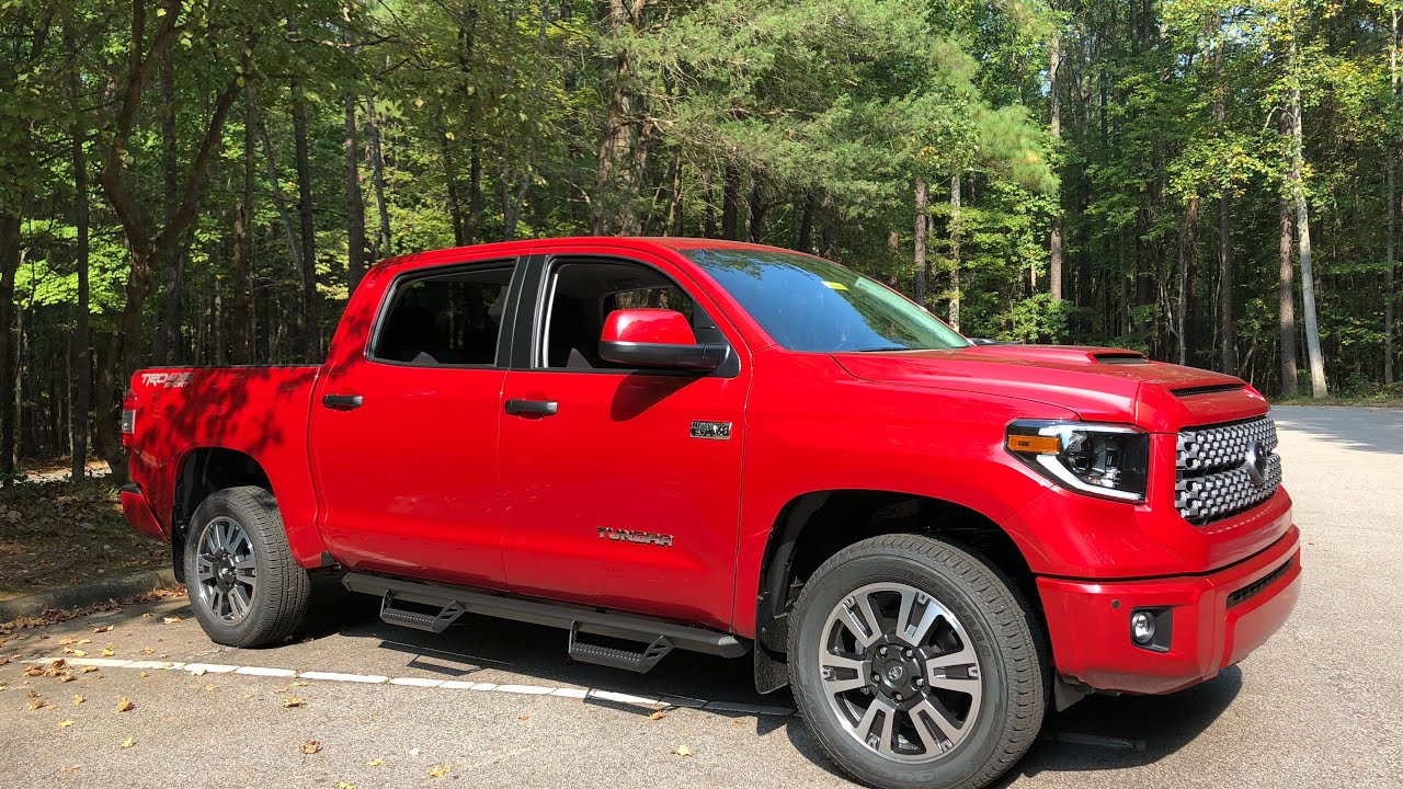 2020 Tundra TRD Sport Package Review!