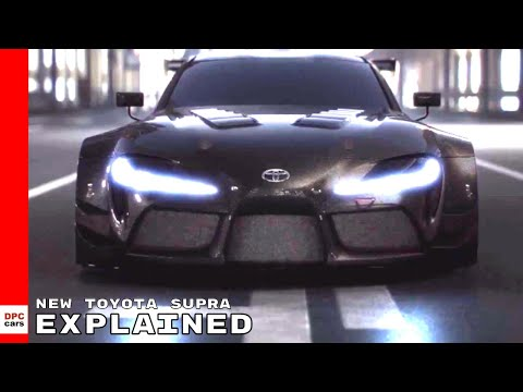 New Toyota Supra Racing Concept Explained