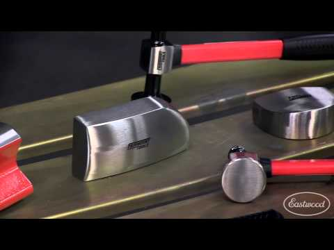 Removing A Dent: 6pc Fairmount Hammers and Dollies Set - Eastwood