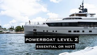 Powerboat Level 2 (PB2) | Yacht Training Overview