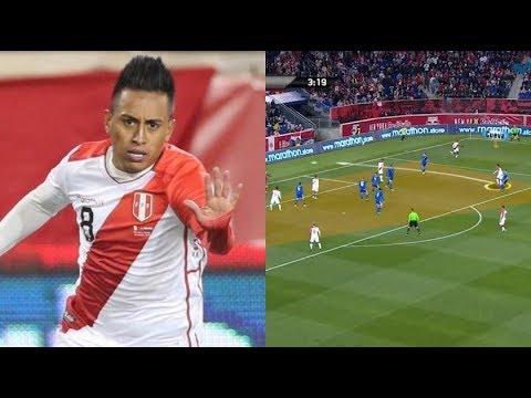Perú vs. Paraguay: el GOLAZO de Christian Cueva que anotó para la Selección Peruana