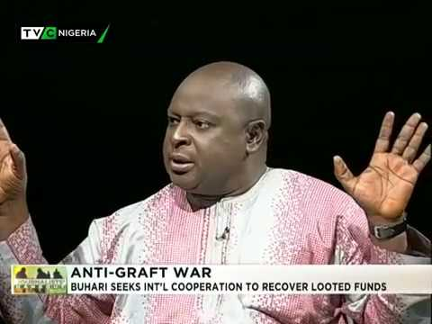 Journalists' Hangout 20th September 2017 | PMB seeks Int'l Cooperation on looted funds WEB