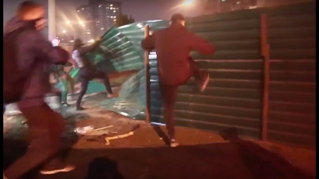 В Киеве в ходе акции протеста пострадали 14 человек