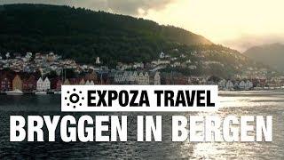 Bryggen in Bergen (Norway) Vacation Travel Video Guide