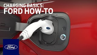homepage tile video photo for Ford Mustang Mach-E: Charging Basics   Ford How-To   Ford