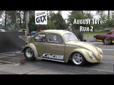 Cip1 - Cip1 Sponsored Drag VW Beetle @ Mission Raceway - YouTube