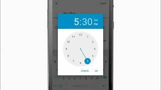 (Android), BlackBerry İş Takvimi Öğretici