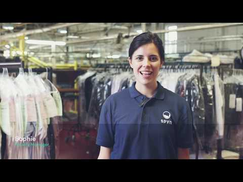 Spyn - London's on-demand dry cleaning service