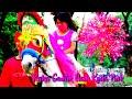 Kuda Delman tanpa kereta ~ Pink naik kuda pink~cavalinho a pilha ~horse drawn carriage