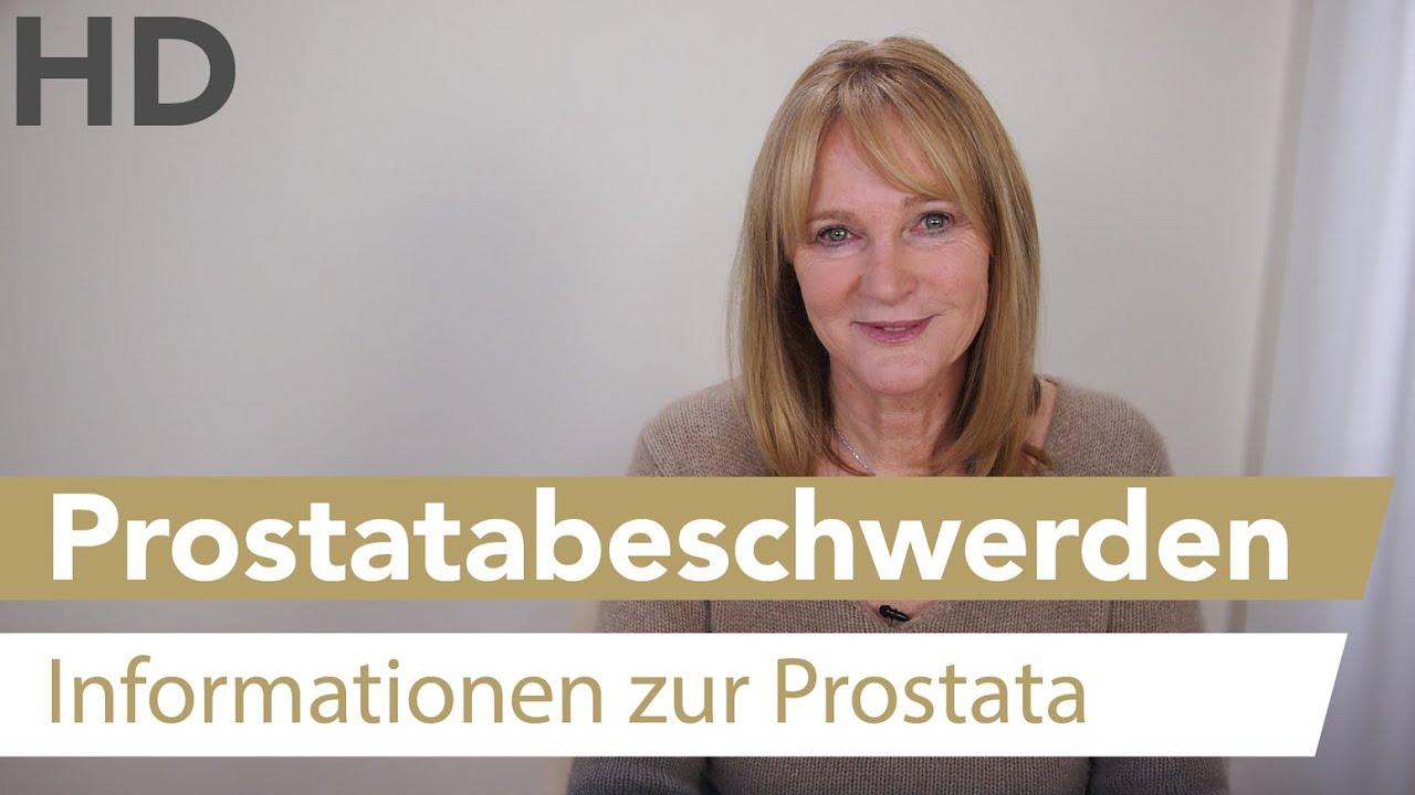 Prostatabeschwerden // Prostata, Prostatakrankheiten, Harndrang,
