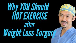 Real Talk:  Why You Should NOT Exercise After Weight Loss Surgery