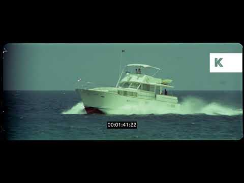 1970s Boat in Caribbean, HD from 35mm | Kinolibrary