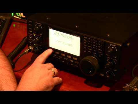 Icom IC-9100 CW Filter Demonstration