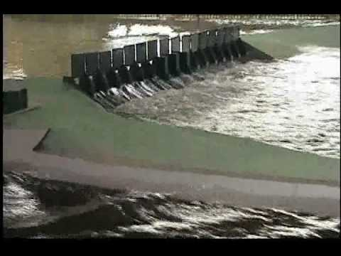 Canton Dam Physical Model Fusegates