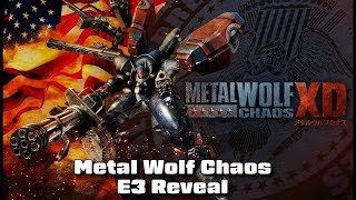 Metal Wolf Chaos XD E3 Reveal - #CUPodcast
